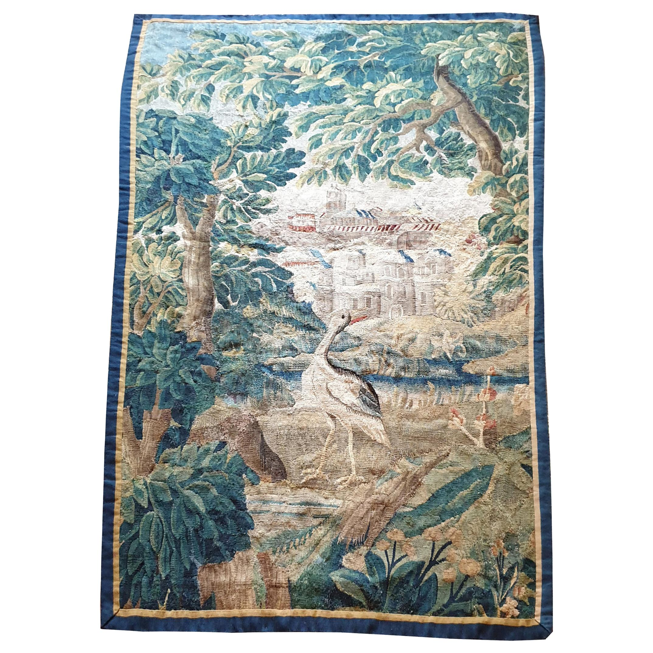 915 - 18th Century Aubusson Tapestry