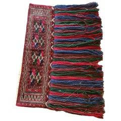 918 - Beautiful Turkmen Saddle Bag with a Nice Bukhara Design