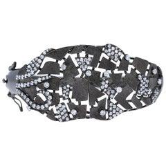 925 Silver Handmade Cuff Bangle