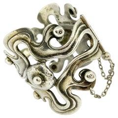 925H Sterling Silver Finland Seppo Tamminen Bracelet