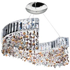 9260/S70 Colored Swarovski Lighting Fixture
