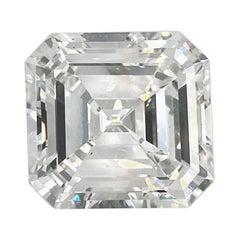 9.31 Carat Square Emerald Cut Diamond GIA Certified