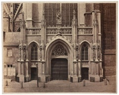 Architectural Images, Cathedral of St. Michael and St. Gudula, Belgium, 1860s
