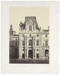 Architectural Images, Palais du Louvre, Pavillion Turgot, Europe, 1860s