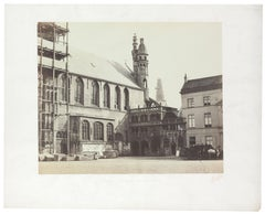 Architectural Images, Church of Saint Sang, Europe, 1860s