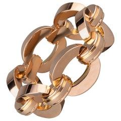 Retro Clerc Paris French Vintage Gold Bracelet