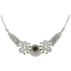 9.50 Carat Diamond Necklace