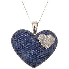 9.51 Carat Sapphire Pendant