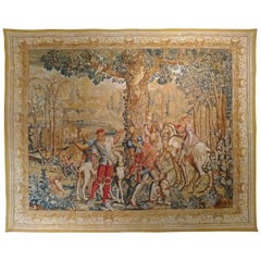959, 19th Century Tapestry 'Hand Printed'