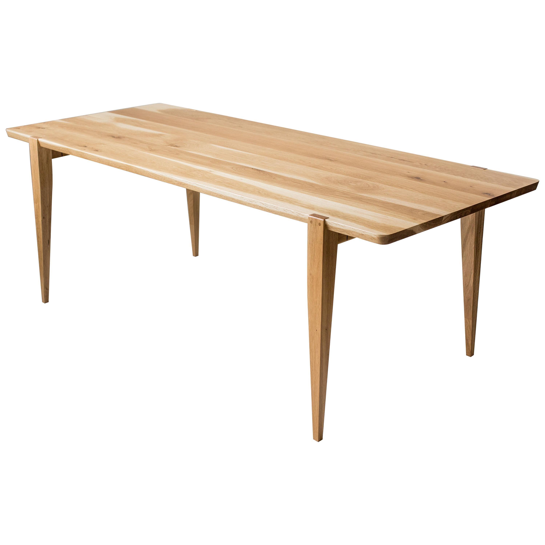 """96"""" Oslo Dining Table in White Oak by Studio Moe"""