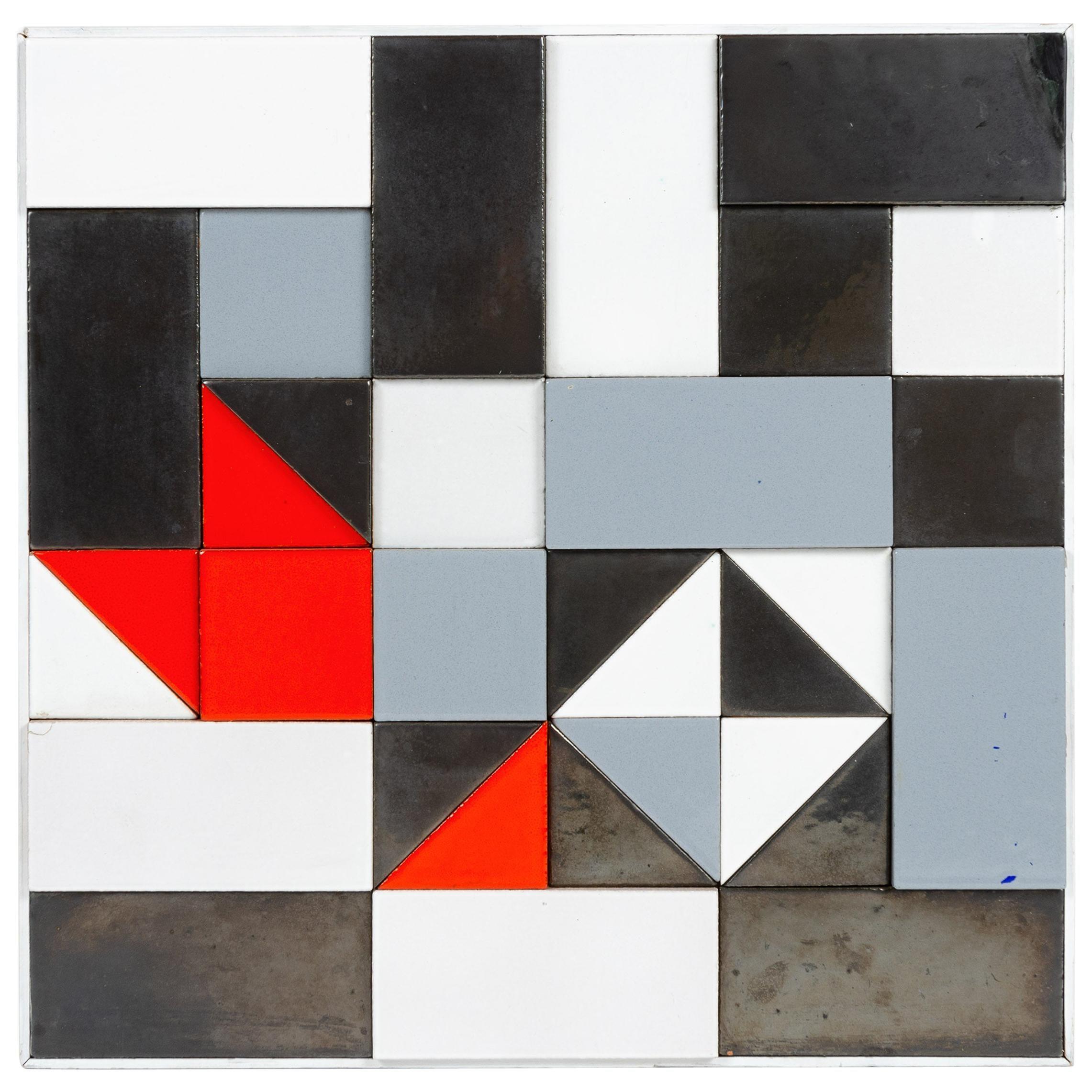 1960s Ceramic Wall Art by Lee Rosen for Design Technics