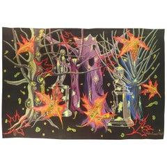 968 -  Modern Tapestry by Delphine Bureau, Chigot
