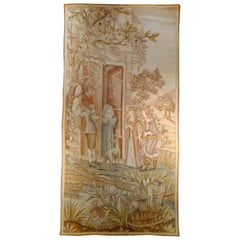 969 - 19th Century Aubusson Needlepoint Tapestry