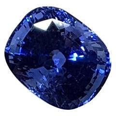 9.71 Carat Sri Lanka Deep Blue Sapphire No Heat