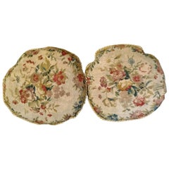 971 -  Pair of 18th Century Aubusson Tapestry Cushion