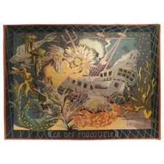 974 - Modern Aubusson Tapestry Signed