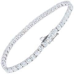 9.88 Carat Diamond Tennis Bracelet