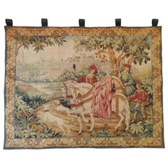 993 - Beautiful Vintage French Tapestry Jaquar