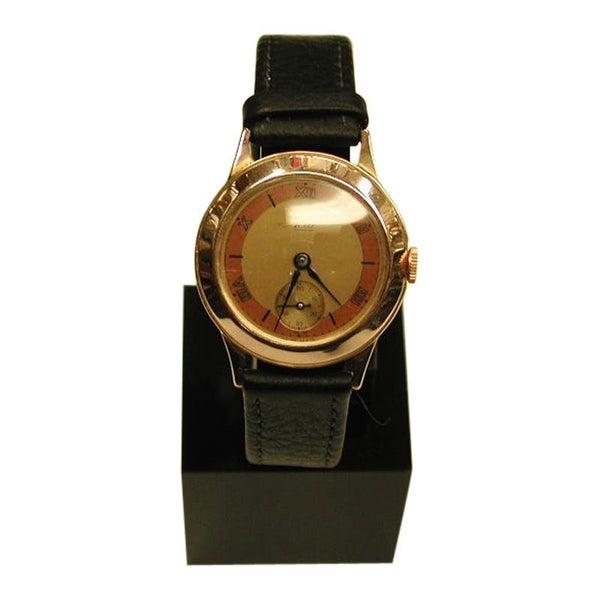 9 Carat Avia Watch with Swiss Movement and Edinburgh Assayed Case, Dated 1942