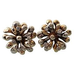 9ct Gold 0.24 Carat Diamond Earrings