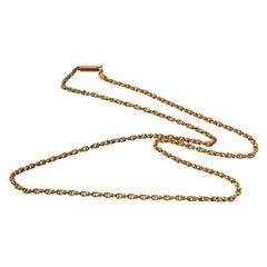 9ct Gold Antique Chain