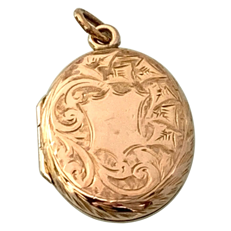 9ct Gold Antique Locket