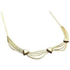 9ct Gold Vintage Necklace
