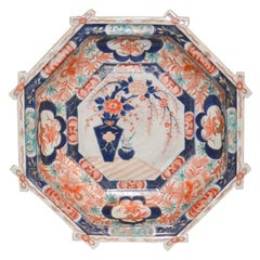 19th Century Japanese Octagon Shaped Imari Bowl