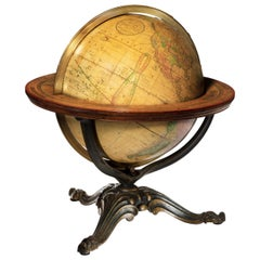 Franklin Terrestrial Table Globe by Nims & Co, New York