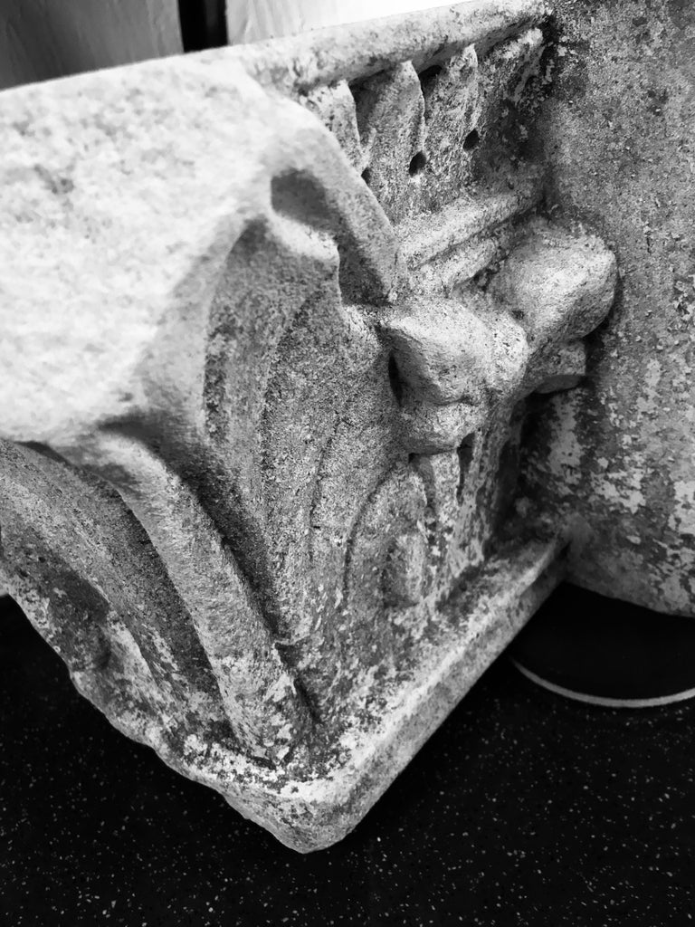 18th Century and Earlier 16th Century Architectural Stone Fragment For Sale
