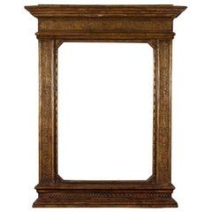 A 16th Century Style Renaissance Giltwood Frame, Florence Italy