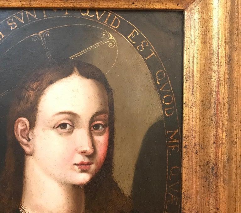 Hand-Painted 17th Century Italian School Titled