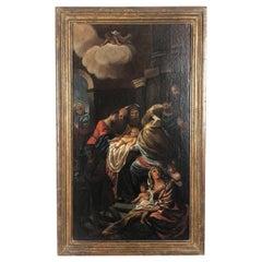 17th Century Italian School Religious Painting
