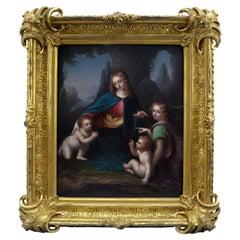 "19th Century Copy of Leonardo da Vinci's ""Madonna of the Rocks"""
