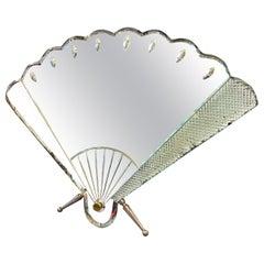 1930s Art Deco Table Mirror by Luigi Fontana