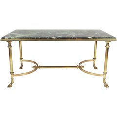 1960s Neoclassical Bronze Coffee Table