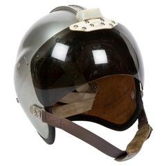 "A 1960's RAF ""Bone Dome"" pilot's helmet"