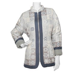 A 1980s Vintage Hermès Reversible Silk Jacket