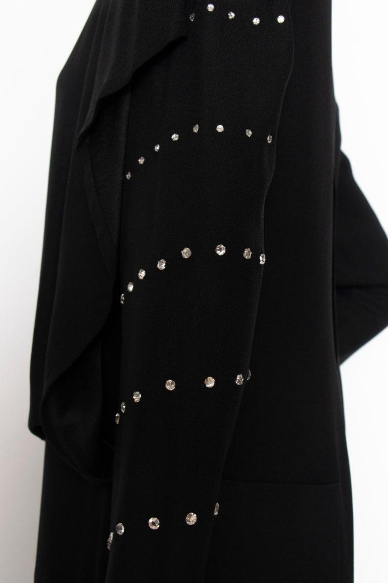 A 1980s Vintage Sonia Rykiel Black Evening Dress  For Sale 3