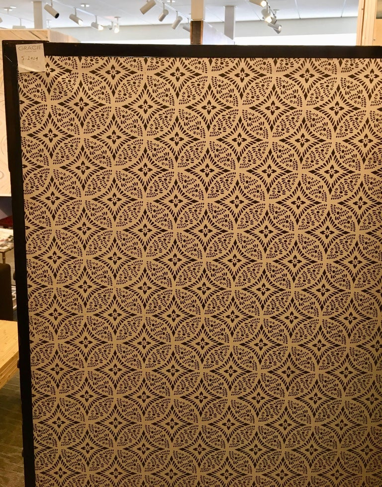 19th Century Six-Panel Screen For Sale 4