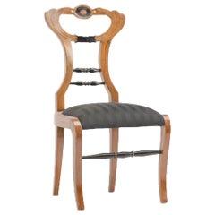 A 19th Century Biedermeier Side Chair