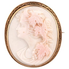 19th Century Cameo Brooch