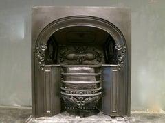 A 19th Century Carron Cast Iron Register Grate