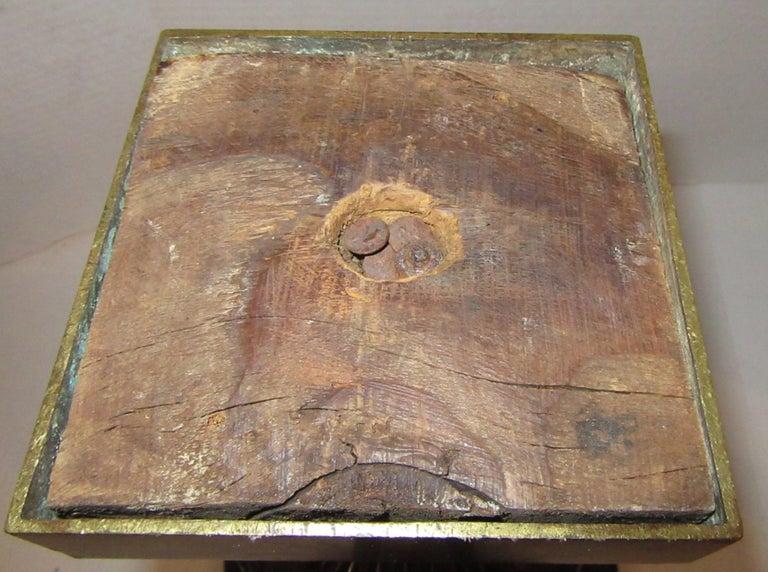 19th Century French Bronze Urn Stamped