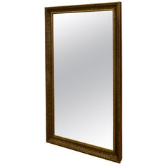 19th Century French Large Gilt Mirror