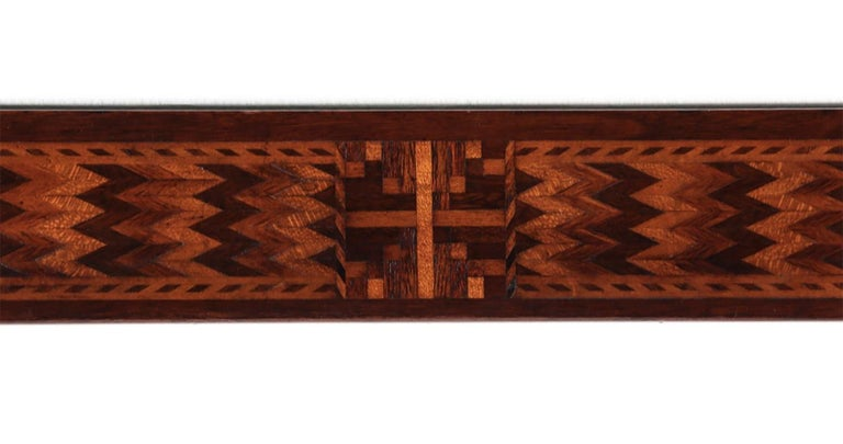 Early 20th Century 19th Century Marquetry American Mirror For Sale