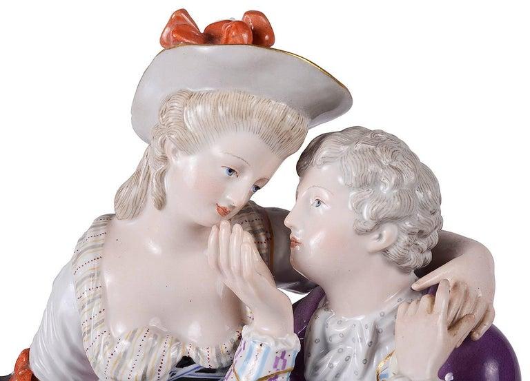 German 19th Century Meissen Porcelain For Sale