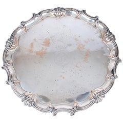 A 19th century Sheffield Silver on copper Salver