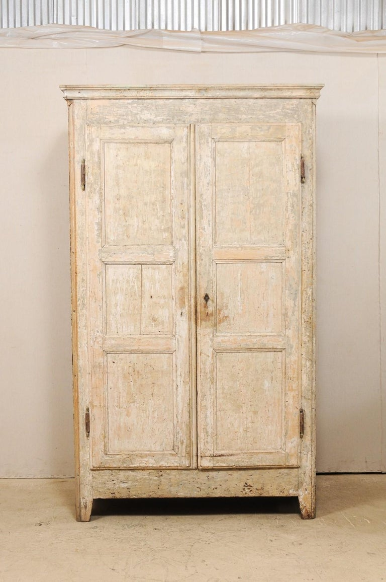 19th Century Two-Door Armoire from the South of France In Good Condition For Sale In Atlanta, GA
