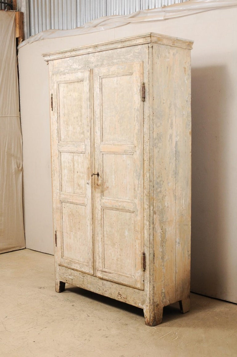 Wood 19th Century Two-Door Armoire from the South of France For Sale